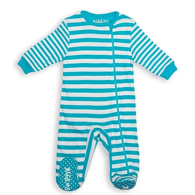 e3e2cb883 Juddlies Sleeper - Blue Stripe (0-3 Months)  Amazon.ca  Clothing ...