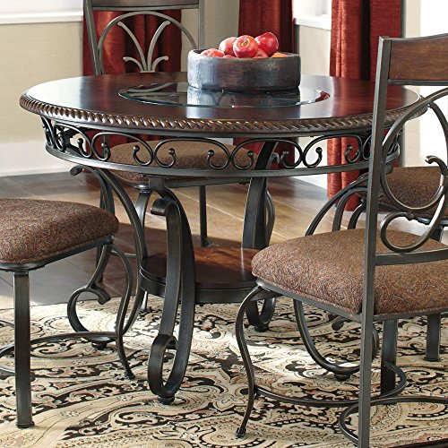 Signature Design by Ashley D329-15 Glambrey Collection Dining Room Table, Brown