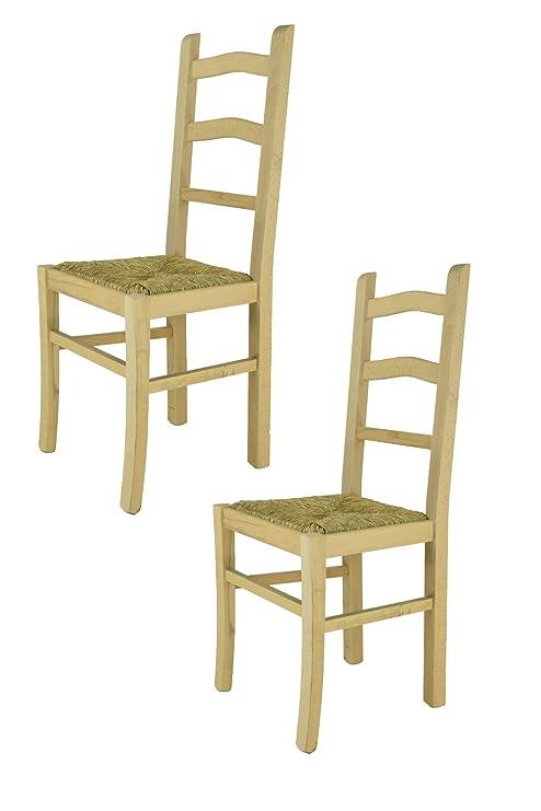 Tommychairs sedie di Design - Set 2 sedie Classiche Tiziana per ...