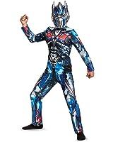 Disguise Optimus Prime Movie Classic Costume, Blue, Small (4-6)