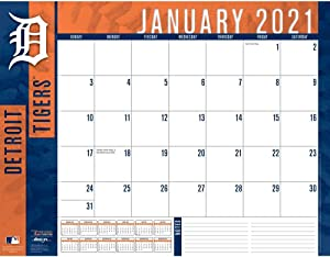 TURNER Sports Detroit Tigers 2021 22X17 Desk Calendar (21998061506)