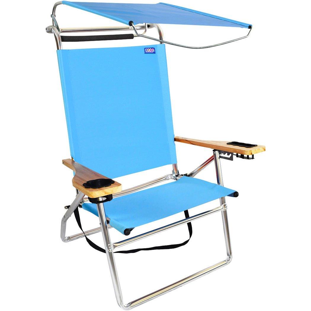デラックス4位置アルミキャノピー椅子 B07BJCL3VD