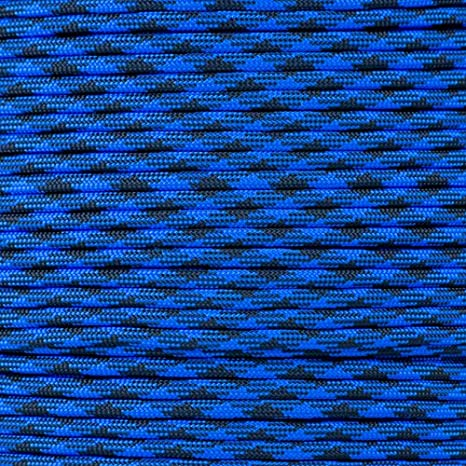 Light Blue Paracord Planet 550 Cord Type III 7 Strand Paracord 250 Foot Spool