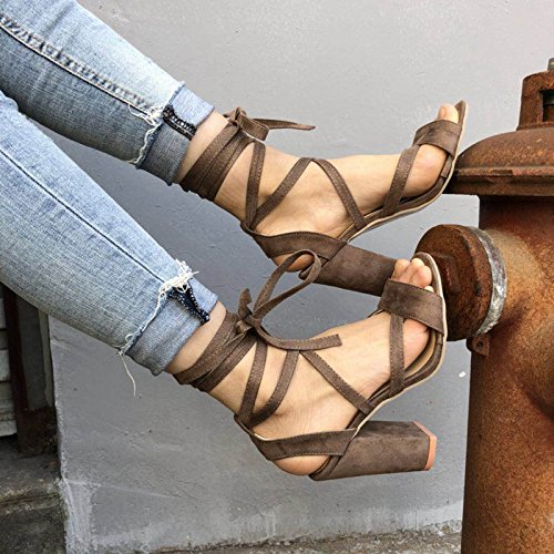 six Donyyyy alta cantieri scarpe sandali di e Thirty estate di donna da Grandi bendaggio OOrq0Hf