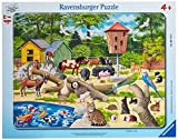 At The Petting Zoo 47 Pieces Frame Puzzle