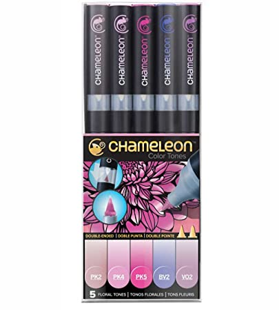 Chameleon Color Tones 5 Pen Floral Tones Set