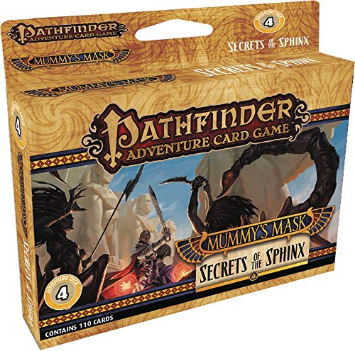 Pathfinder Adventure Card Game: Mummy's Mask Adventure Deck 4: Secrets of the Sphinx (Card Sphinx)