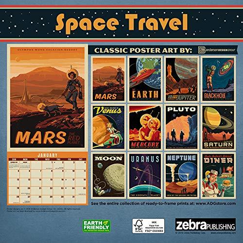 Space Travel Calendar