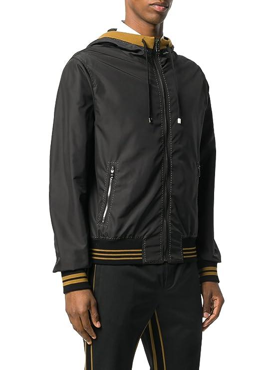 Dolce & Gabbana - Chaqueta - para hombre Negro negro 38: Amazon.es: Ropa y accesorios