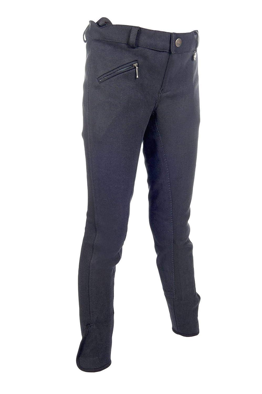 HKM Pantalon d/équitation pour Homme Penny Additional basanes 3//4