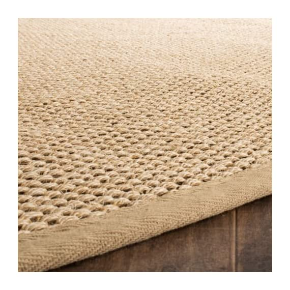 Safavieh NF141C-10 Area Rugs - Construction Power Loomed Fiber/Finish 100% Sisal Pile Backing Power Loomed Rugs Do Not Use Backing Material On The Underside Of The Rug. A Thin Coat Of Latex Is Applied To The Underside Of The Rug To Secure The Yarns Firmly In Place. This Latex Coat Is Virtually Invisible And Is Not Considered Backing Material. - living-room-soft-furnishings, living-room, area-rugs - 61yEwLqh1uL. SS570  -