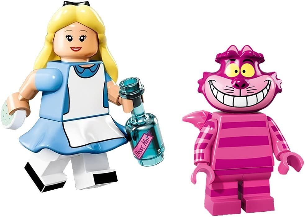 Lego Disney Minifigures (71012) - Alice & Cheshire Cat 2 Pack