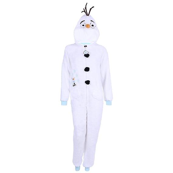 e2c56d5c5ecd8 Olaf from The Disney Film Frozen Onesie Jumpsuit Ladies Womens PJ s Pyjamas  Pjs (Small)