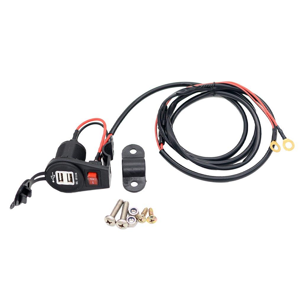 MagiDeal Dual USB KFZ Ladegerät ( Car Charger) Auto-Ladegerät Mit ...