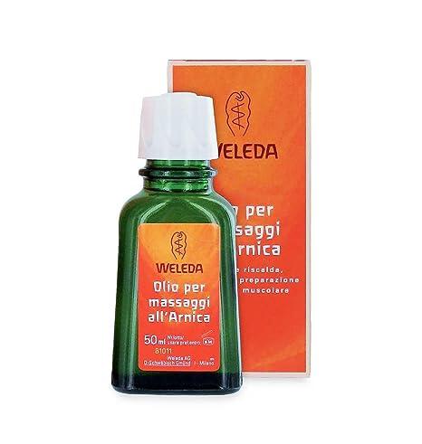 Aceite para Masaje con Árnica, Preparación y Recuperación Muscular - Weleda (Formato viaje 50 ml) - Se envía con muestra gratis!
