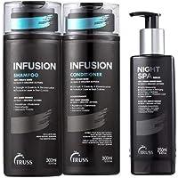 Infusion (shampoo + Condicionador) + Night Spa Truss