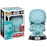 Funko POP! Star Wars - Qui Gon Jinn (Holographic) Star Wars Galactic Convention 2017!