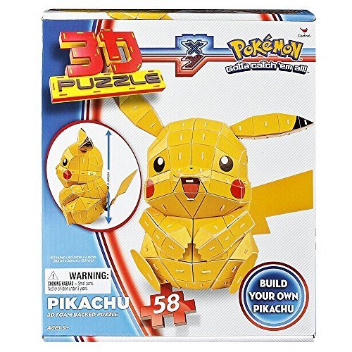 Mark Obsolete Pikachu 3D Foam Backed Puzzle