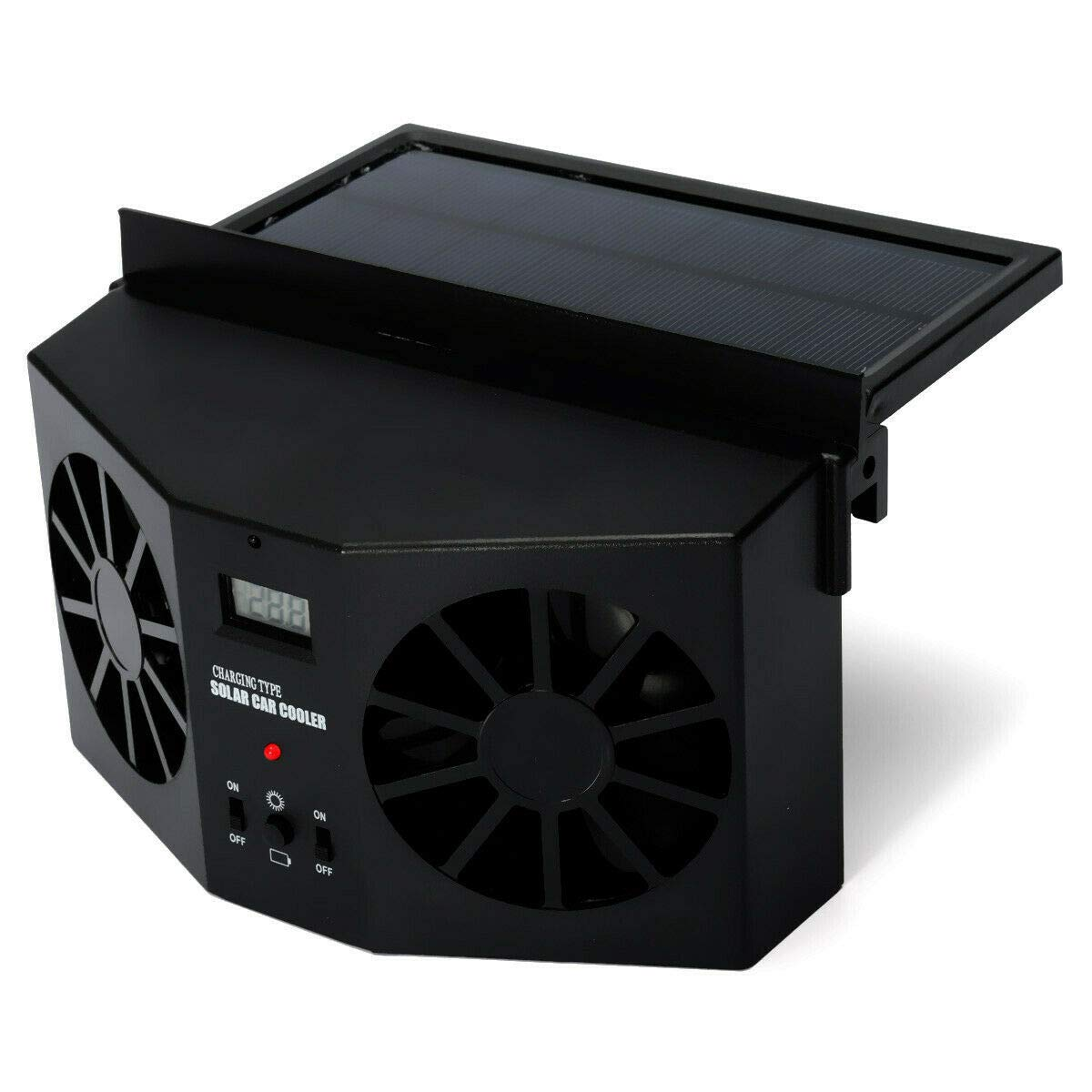 MASO Solar Powered Car Exhaust Fan