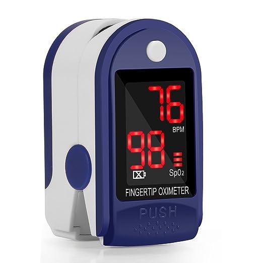 56 opinioni per Saturimetro Professionale FKANT Pulsossimetro da Dito con Display LCD per La
