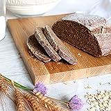 "Forsun 1pcs 8.5"" Round Banneton Brotform Bread Dough Proofing Rising Rattan Basket & Liner,Banneton Proofing Basket Set - for Home Bakers (Sourdough Recipe) & Bread Making"