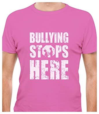 TeeStars - Bullying Stops Here - Wear Pink for Anti-Bullying T ...