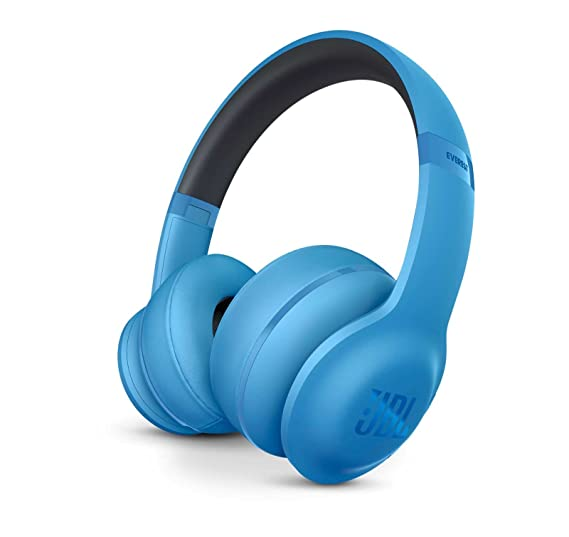 1fd2f77ba5d Image Unavailable. Image not available for. Color: JBL Everest 300 Wireless  Bluetooth On-Ear Headphones (Blue)