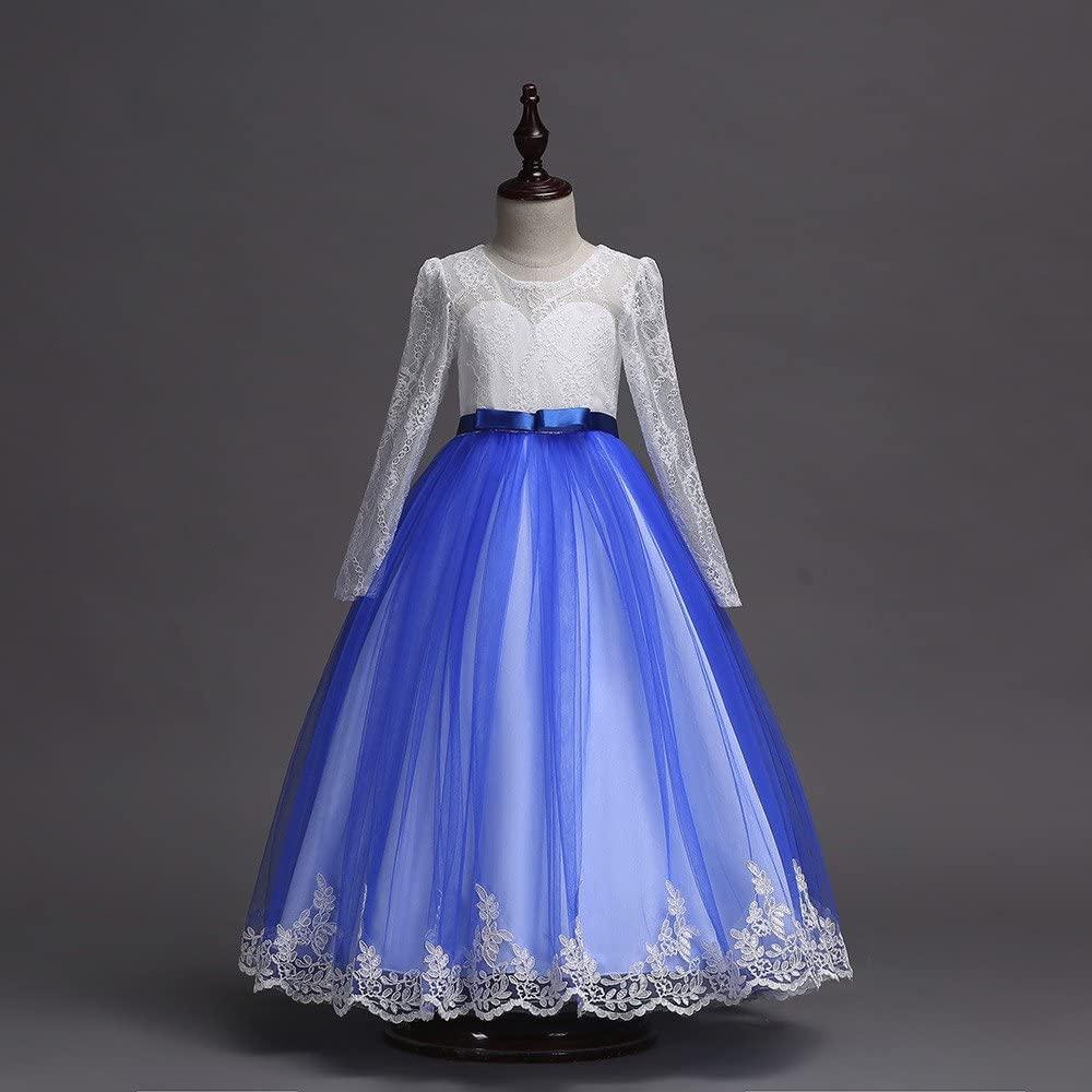 K-youth Vestido De Boda Niña Vestido De Princesa para Niña ...