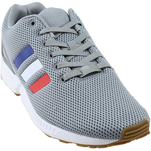 Unisex White Mid ZX adidas Core Flux Scarpe Grey Footwear Red px7HBqn