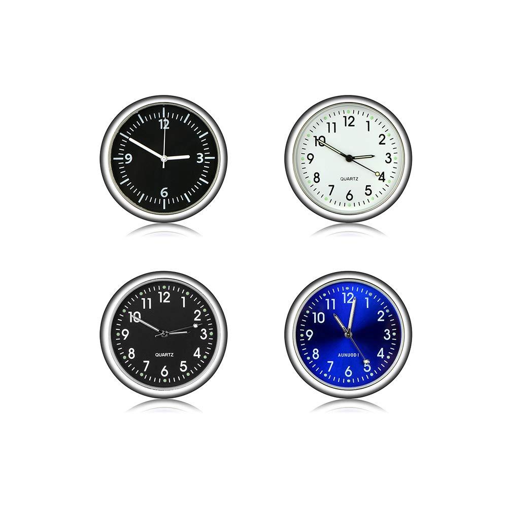 ETbotu v/éhicule de Voiture Ornement Automotive Horloge Automatique Montre Automobiles D/écoration Int/érieur adh/ésifs Horloge Ornements Accessoires