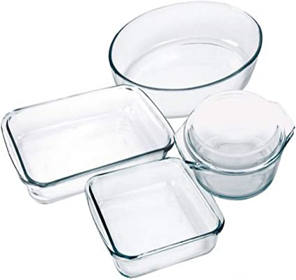 Marinex 5 Piece Oven Baking Dish Set Gift Boxed Amazon Co Uk Kitchen Home