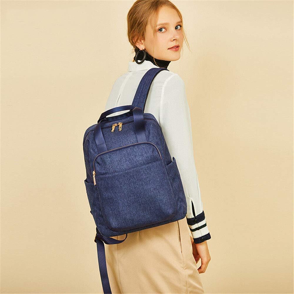 MSF1990 Rucksack Damen Denim Tasche Mode Große Große Große Kapazität Reiserucksack Rucksack Studententasche (blau 26 × 13 × 35 cm) B07MZ2PJ6N Daypacks Neu b0c56c