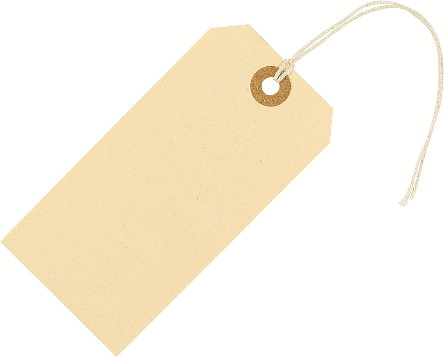 Shipping Tags with String Attached 4 3/4