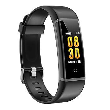 AUSUN Pulsera de Actividad Inteligente, FT901 Pulsera Actividad Reloj Inteligente Impermeable Mujer Hombre con Monitor