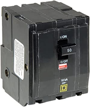 Several Sizes to choose from inc triple pole Square D MCB Circuit Breaker