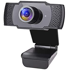 Serenelife 1080P Full HD Webcam - HD Audio & Video Unimpeded w/USB Connector, with Microphone, Computer Connection, Plug and Play - SLWBCAM20