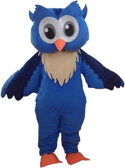 Grey Owl Night bird Animal Customade fancy dress Mascot Costume Fancy dress