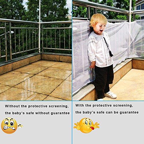 Winkeyes Children Safety Rail Balcony Stairs Safety Net