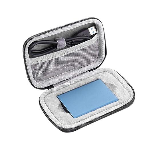 Estuche Portátil para Samsung T5 Unidad De Estado Sólido, Caja De ...