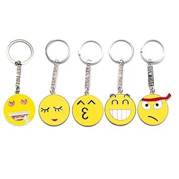 favorict emoticon Emoji Llavero de metal con Nueva York New ...