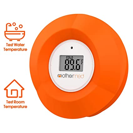 Ideal for babies or the elderly Check the water is not too hot WHITE BATH THERMOMETER