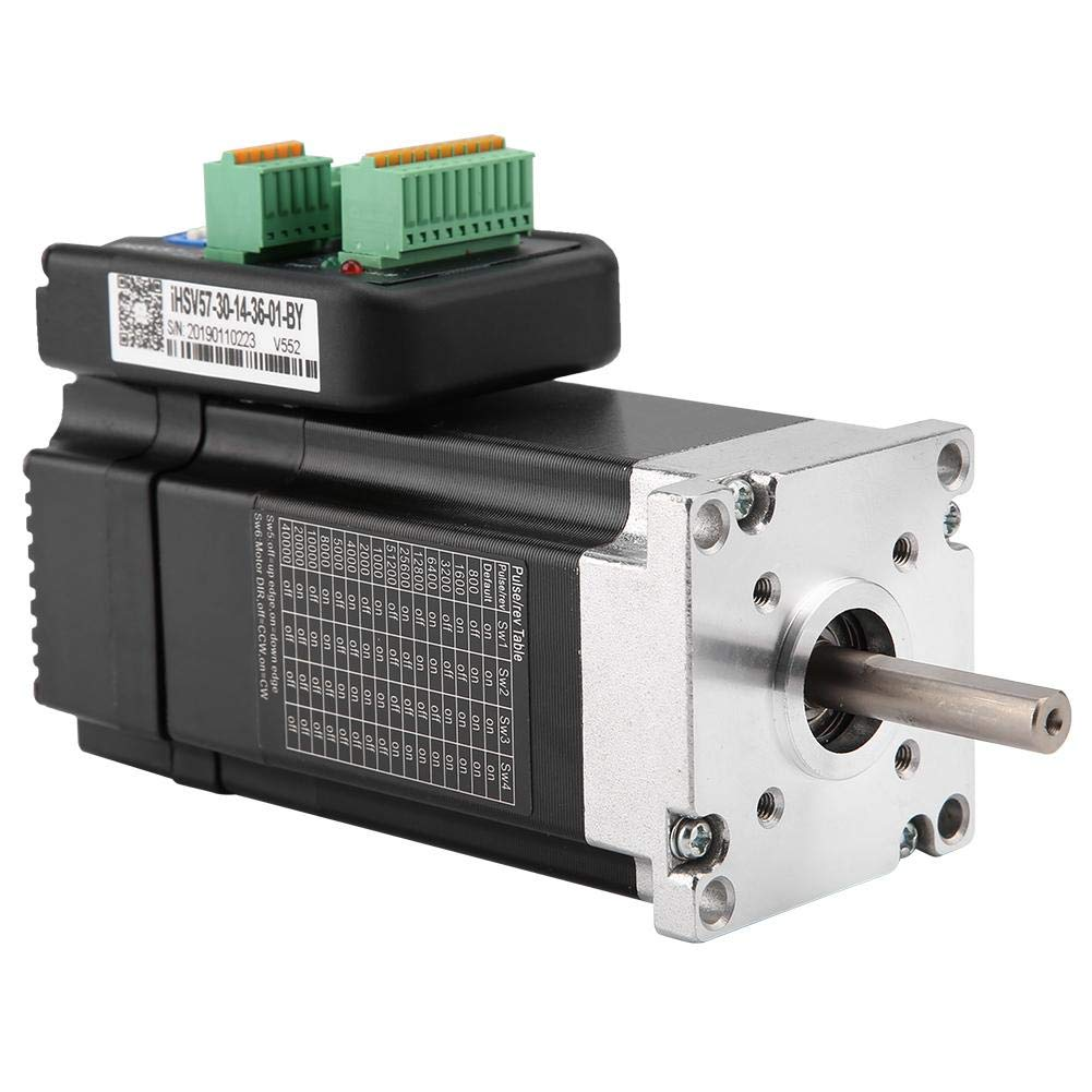 Servo Motor, DC 36V 140W 3000rpm 0.45Nm Integrated Servo Motor for Automation Equipment and Instruments by Yanmis