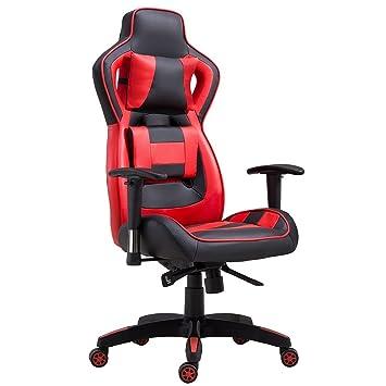 Delman Burostuhl Racing Burostuhl Schreibtischstuhl Gaming Chair