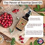 PURA D'OR Organic Rosehip Seed Oil