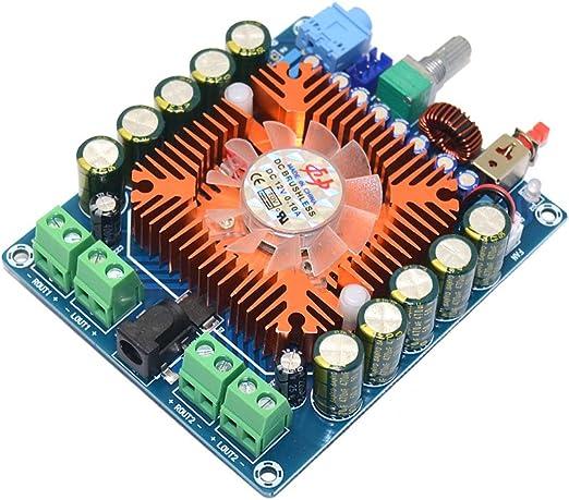 Amazon Com Tda7850 50w4 Amplificador De Potencia Hifi Para Coche 50 W 4 Canales Home Audio Theater