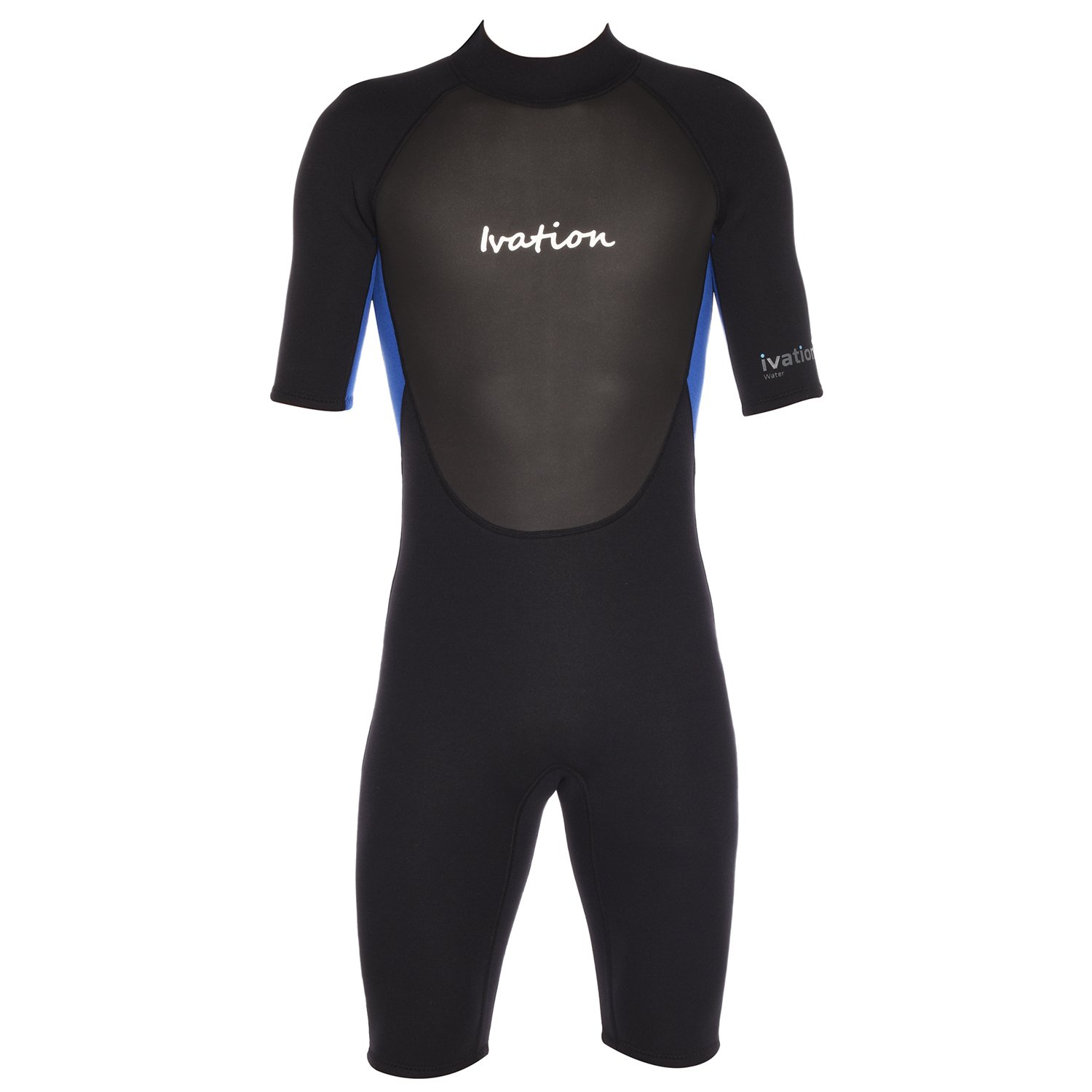 14e1681c06 Ivation 3mm Short Wetsuit for Adult - Crafted of Premium Neoprene &  Features Zipper & Full UV Protection