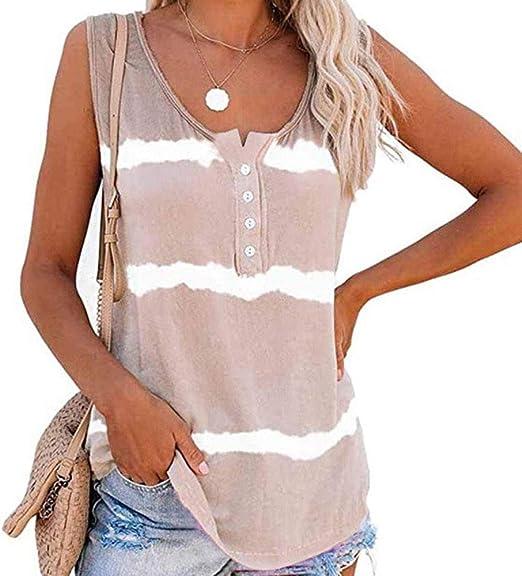 Camiseta Holgada con Estampado Tie-Dye Y Estampado De Verano para Mujer: Amazon.es: Ropa y accesorios