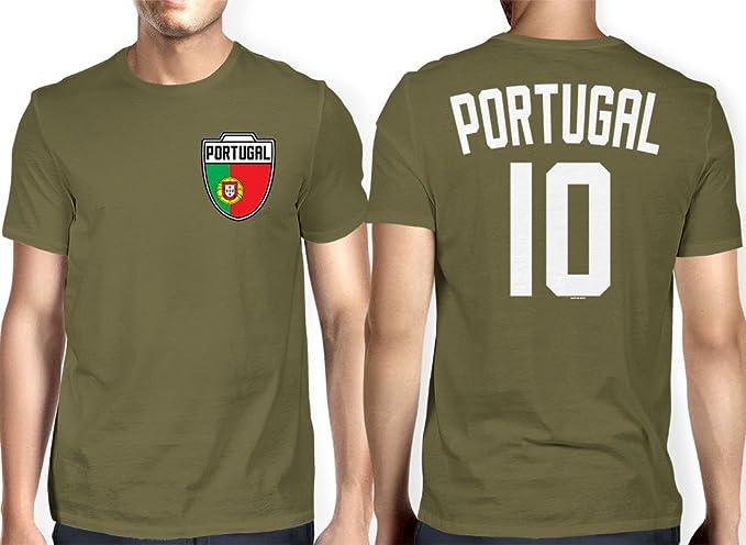 HAASE UNLIMITED para Hombre Portugal portugués – fútbol fútbol Camiseta - Verde -