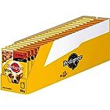 Pedigree Vital Protection/Nourriture pour Chien Haute qualité en Sauce et Gelée, Saveurs différentes/24Sachets (24x 100g)