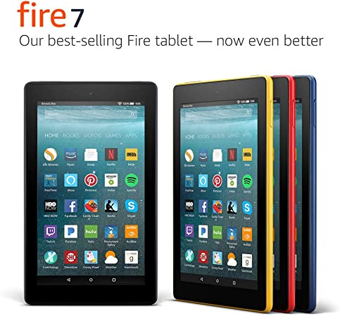 Amazon Com Fire 7 Tablet 7 Display 8 Gb Red Previous Generation 7th Kindle Store